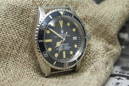 Vintage Rolex 1680 Submariner Date-Serviced June 2016