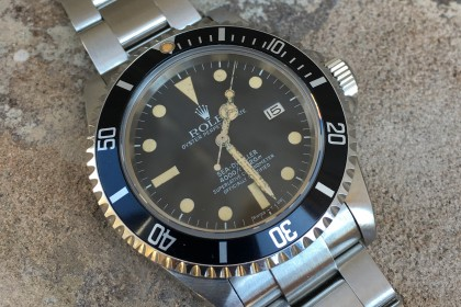 Vintage Rolex Early Mk I Rolex Transitional Sea-Dweller 16660 'Triple Six'