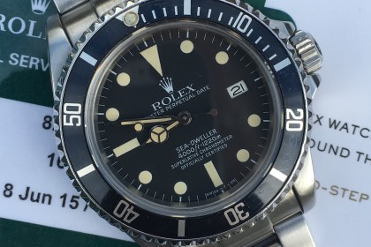 Vintage Rolex Rolex Transitional Sea-Dweller 16660 'Triple Six'