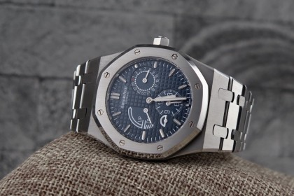 Modern Audemars Piguet Royal Oak Dual Time-Blue Dial ref 26124ST.OO.D018CR.01