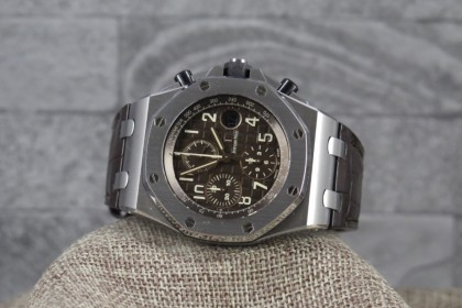 Modern Audemars Piguet Royal Oak Offshore 'HAVANA 2018 full set, As New