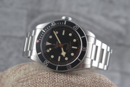 Modern Tudor Heritage Black Bay 79220N-The Original Black Bay-MINT