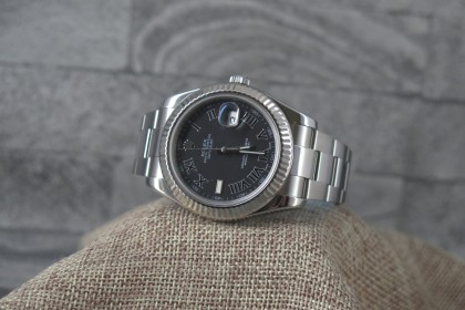 Modern Rolex 116334 Datejust II with stunning Grey dial