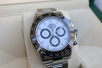 Modern Rolex 116500LN White Dial Daytona - UNWORN UK Watch - 1 Week Old