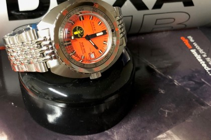 Modern Doxa Aqualung 'Black Lung' Limited Edition