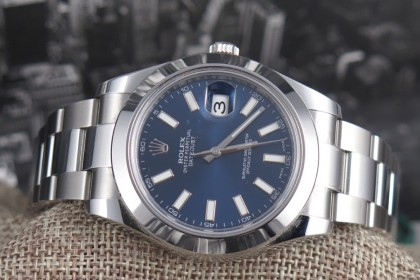 Vintage Rolex Datejust II - 116300 Full UK set - May 2016