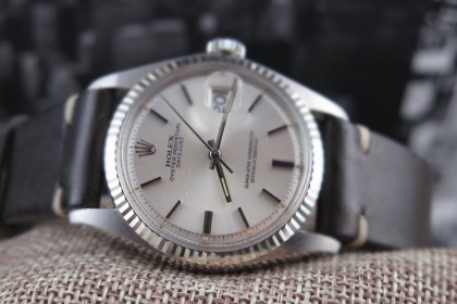 Vintage Rolex 1601 Datejust Silver SIGMA dial