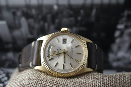 Vintage Rolex Daydate 1803 Champagne Dial