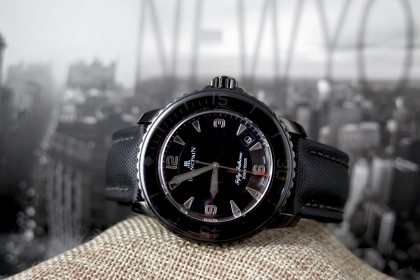 Modern Blancpain Fifty Fathoms 'DARK KNIGHT' Full set