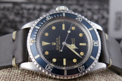 Vintage Rolex Meters First Gilt dial Submariner - Stunning & rare