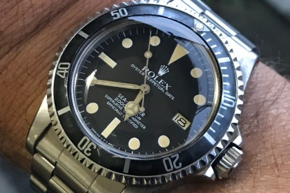 Vintage Rolex MK3 1665 Sea Dweller 'Great White'