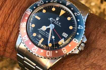 Vintage Rolex 1675 MK2 GMT Master- unpolished with stunning patina