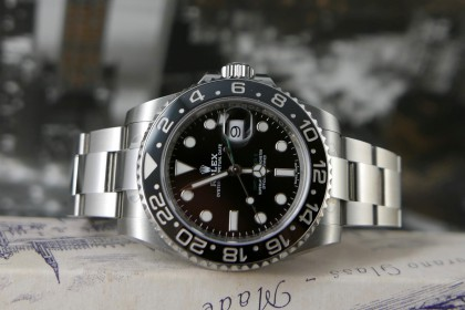 Modern Rolex Rolex 116710LN GMT Master II-2019 Full Set with stickers