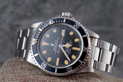 Vintage Rolex 1665 Great White Sea-Dweller MK3 Dail Amazing Patina
