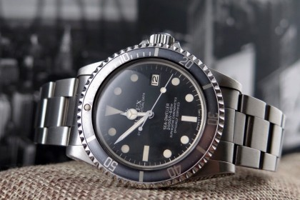 Vintage Rolex 1665 Sea-Dweller 'Great White' MK3 Dial