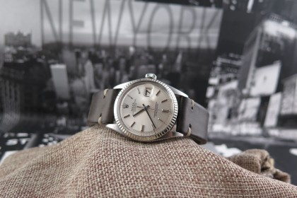 Vintage Rolex 1600 Datejust - Silver dial - Stunning condition