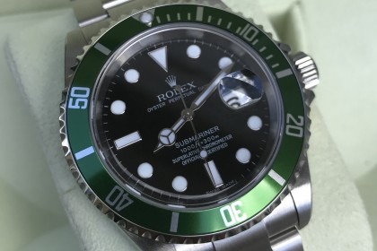 Modern Rolex 16610LV Anniversary Submariner, UNWORN & SEALED-Z Serial