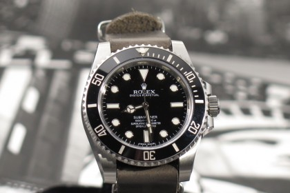 Modern Rolex 114060 Random Serial Non Date submariner - Feb 2014