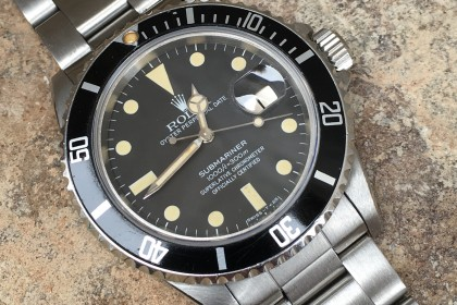 Vintage Rolex Transitional Submariner 16800 - STUNNING example