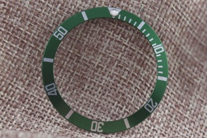 Straps Green insert for Rolex 16610LV anniversary Submariner LV1
