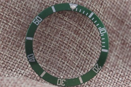 Part Green insert for Rolex 16610LV Anniversary Submariner LV2