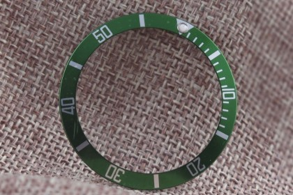 Part Green insert for Rolex 16610LV anniversary Submariner LV3