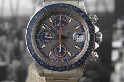 Vintage Tudor 94200 Monte Carlo Exotic Dial Chronograph - STUNNING example