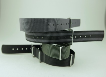 Genuine Phoenix Admiralty Grey NATO strap - 18mm  AD18
