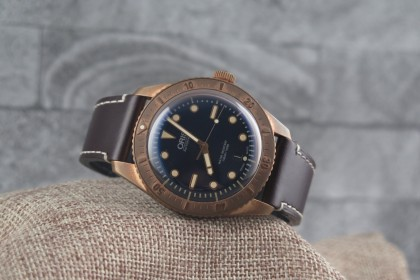 Modern Oris Bronze Carl Brashear Limited Edition FULL SET