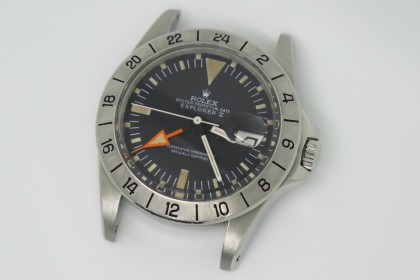 Vintage Rolex 1655 Straight Hand Explorer Orange Hand