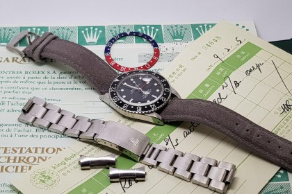 Vintage Rolex 16750 GMT-Master Full Set-1985