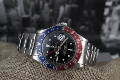 Vintage Rolex GMT Master  Chapter Ring PCG