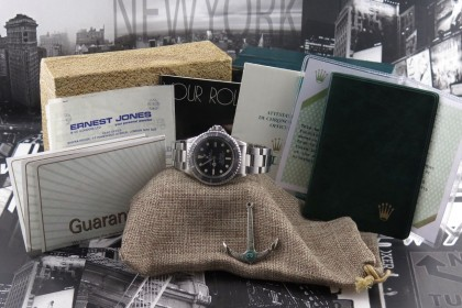 Vintage Rolex Sea Dweller 1665 MK1 Full set