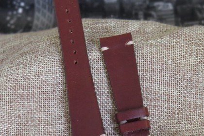 Straps Classic Collection 20mm MJW10 - Burgundy