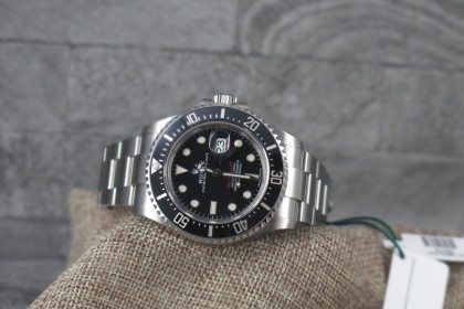 Modern Rolex 126600 Red Writing Anniversary Seadweller - JAN 2018 Unworn