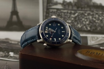 Modern Omega Omega Seamaster 41mm Co-Axial Automatic- with Dangerous9 Strap