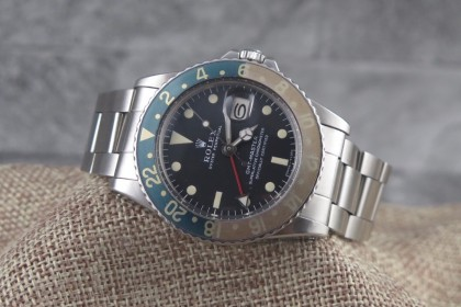 Vintage Rolex GMT Master 1675, MK1, Long E Full Set