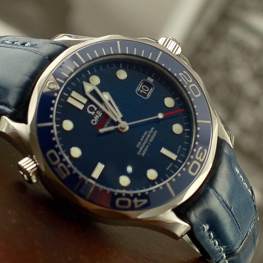 Omega Omega Seamaster 41mm Co Axial Automatic With