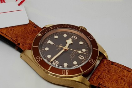 Modern Tudor 79250BM Heritage Black Bay Bronze - UNWORN Oct 17