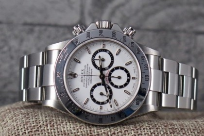 Vintage Rolex 16520 Zenith Daytona with Inverted 6 dia - Stunning example